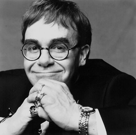 Patrick Demarchelier, 'Elton John, Paris', 1992