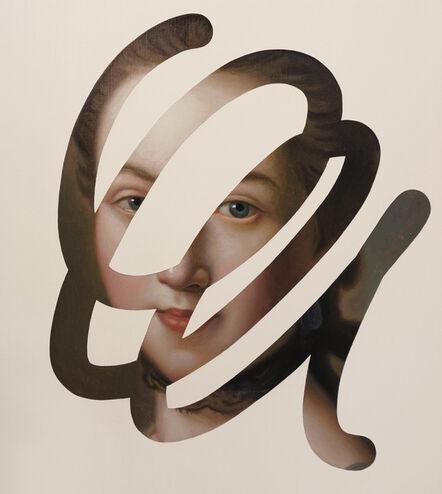 Lino Lago, 'Fake Abstract (Pietro Antonio Rotari)', 2020