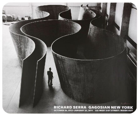 Richard Serra, 'Inside Out (Hand Signed)', 2014