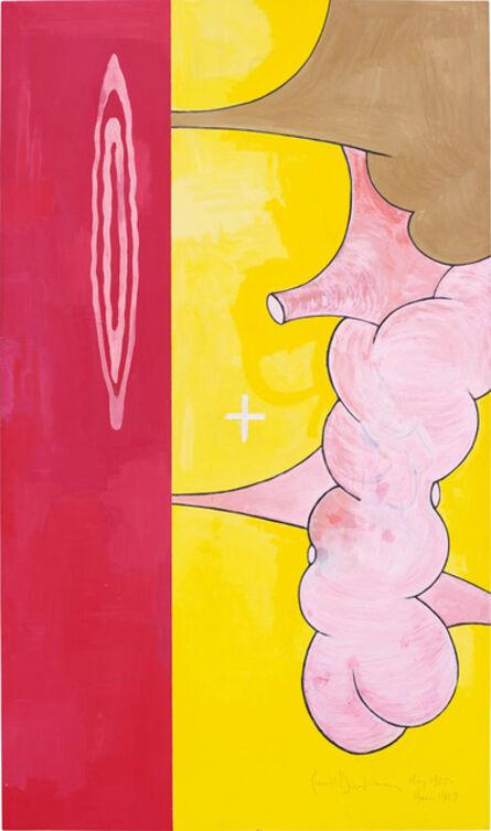 Carroll Dunham, 'Body of Knowledge', 1985-87