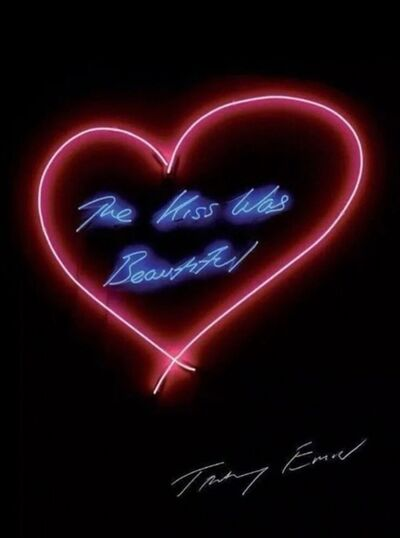 Tracey Emin, 'The Kiss Was Beautiful', 2018