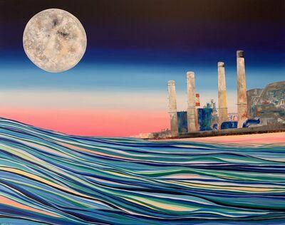 Drica Lobo, 'Moonlight Over the Industries', 2020