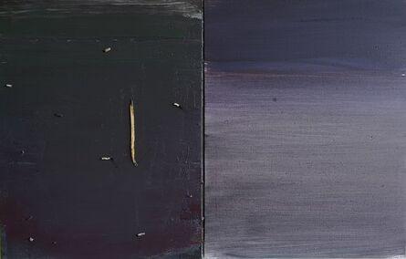 Gustas Jagminas, 'Book (2 separate canvases)', 2019
