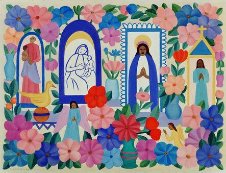 Tarsila do Amaral, 'Tapestry Tarsila do Amaral - A Religião III', 2016
