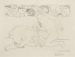 Pablo Picasso, 'Minotaure Vaincu (Vanquished Minotaur) (from La Suite Vollard)', 1933