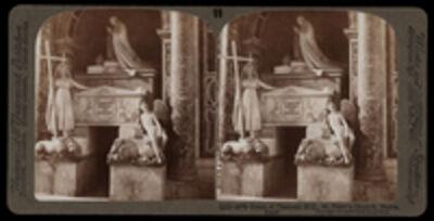 Bert Underwood, 'Tomb of Clement XIII, St. Peter's', 1900