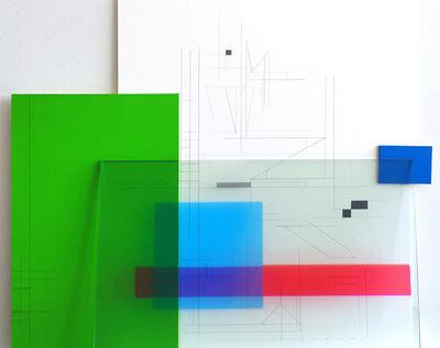 Monika Bravo, 'Studies for Musical Notations_ Arvo Pärt FRATES-P.Glass-innercities (Version A)', 2015
