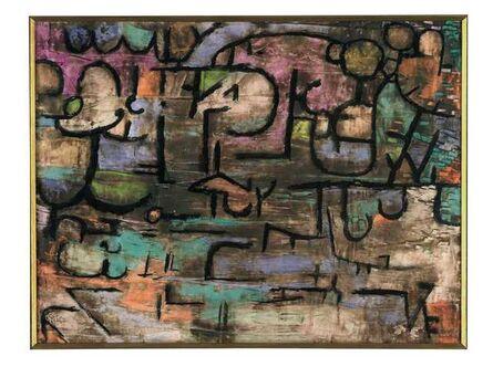 Paul Klee, 'nach der UeberSchwemmung (After the Flood)', 1936
