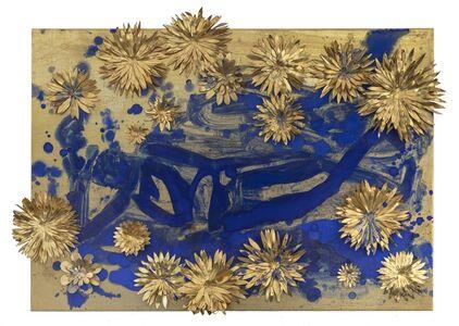 Nancy Lorenz, 'Reclining Buddha with Flowers', 2010