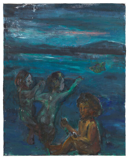 Amelie von Wulffen, 'Untitled (Marees kid, shit and butterfly)', 2015