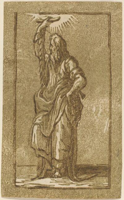 Antonio da Trento after Parmigianino, 'Saint Simon'