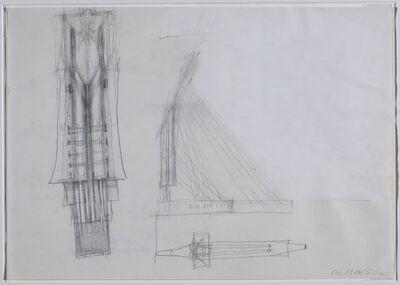 Walter Pichler, 'Wie ein Segel', 1995