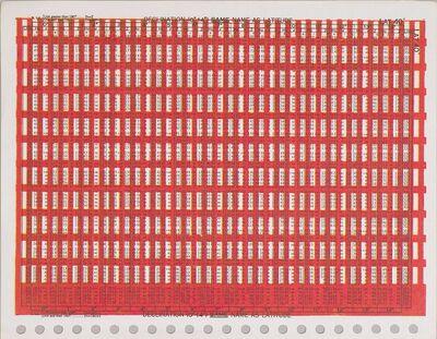 Karel Martens, 'Untitled', 2009