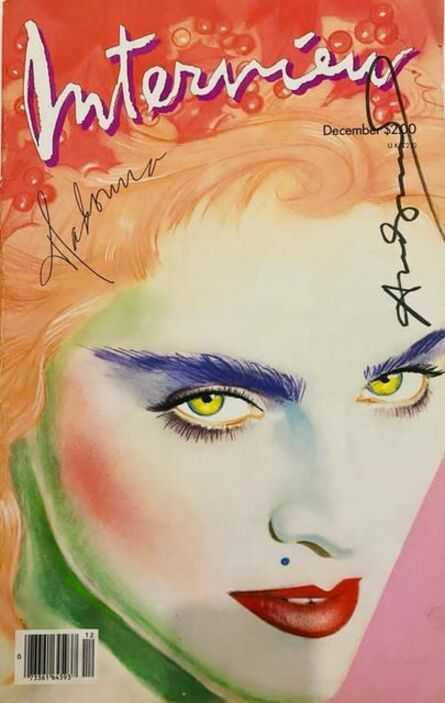 Andy Warhol, 'Interview Magazine signed by Andy Warhol (Madonna)', 1985