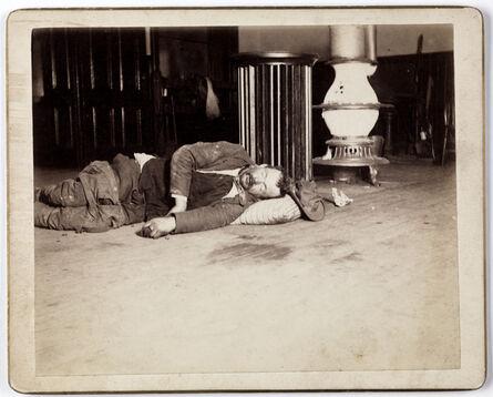 Richard Hoe Lawrence, '[Police Station Lodger]', ca. 1895