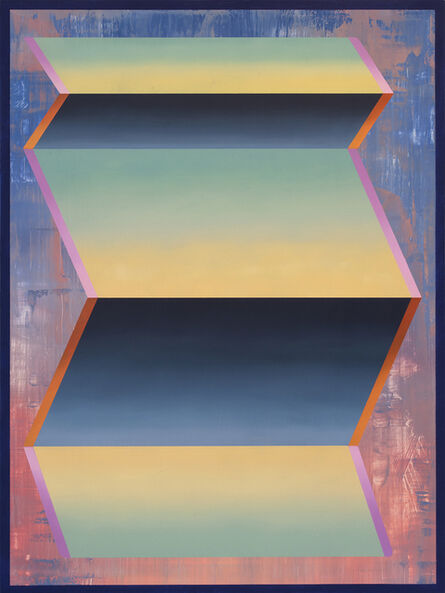 Dan Perkins, 'Chartreuse Floater', 2017