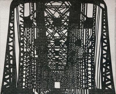 William Steiger, 'NP Bridge', 2018