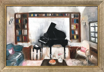 Cindy Shaoul, 'Books and Tunes', 2021