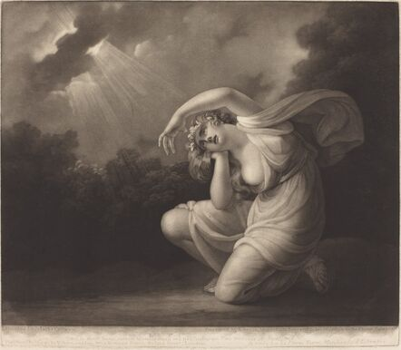 Valentine Green after Maria Cosway, 'Clytie', 1785
