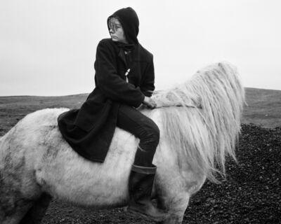 Chris Killip, 'Boo on a horse', 1984