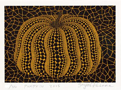 Yayoi Kusama, 'Pumpkin (Print and book)', 2005