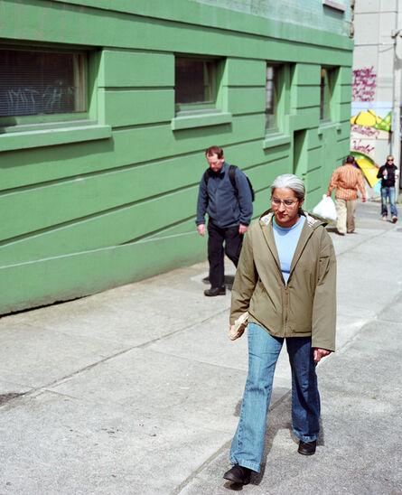 Jeff Wall, 'Figures on a Sidewalk', 2008