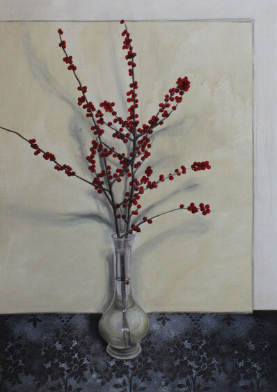 Linda Carrara, 'Vaso con fiori', 2014