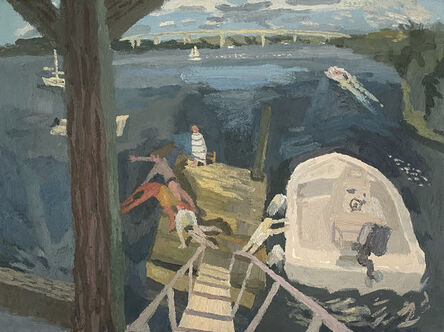 Brian Rego, 'Boat Day', 2020