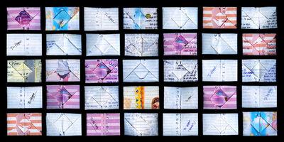 Angki Purbandono, 'Origami Love Letters', 2013