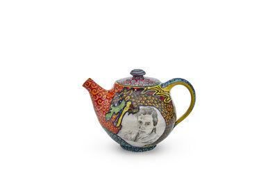 Roberto Lugo, 'Agnes Martin / Jean-Michel Basquiat Teapot', 2021