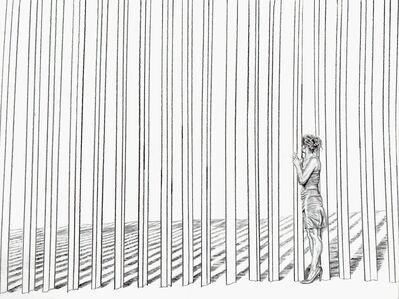 Ana Teresa Fernández, 'Pasando (Performance Documentation)', 2018