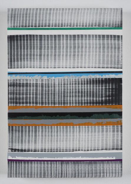 Juan Uslé, 'In Kayak (Leman)', 2014