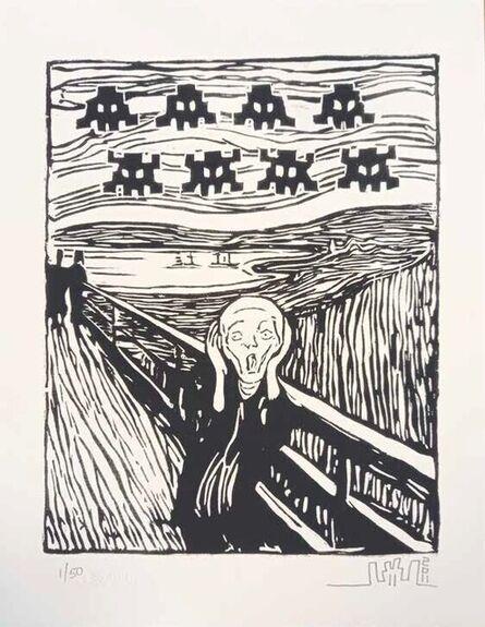 Invader, 'Invaded Scream', 2011