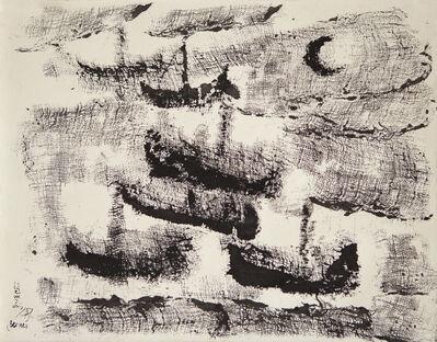 Anwar Jalal Shemza, 'Boats', 1957