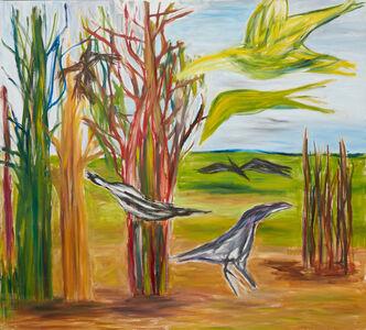 Ken Whisson, 'Real Birds Imagined', 2011-11-18 00:00:00 UTC