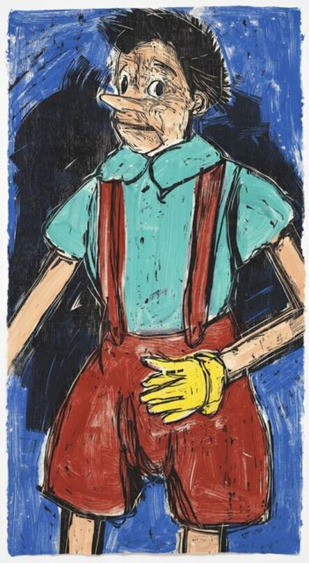Jim Dine, 'Fear in Color', 2012