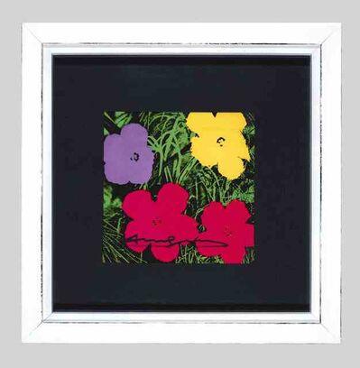 Andy Warhol, 'Flowers Invitation',  1970