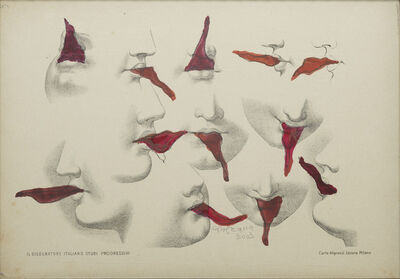 Carol Rama, 'Lusinghe (Flattery)', 2003