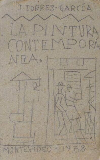 Joaquín Torres-García, 'La pintura contemporánea', 1938