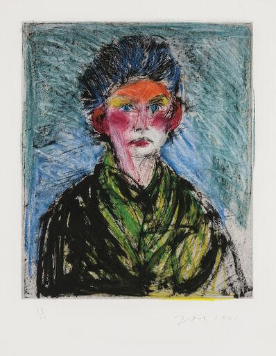Jim Dine, 'Nancy Outside in July XVIII: Full of Expression', 1981