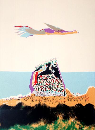 Benny Andrews, 'Glider', 1980