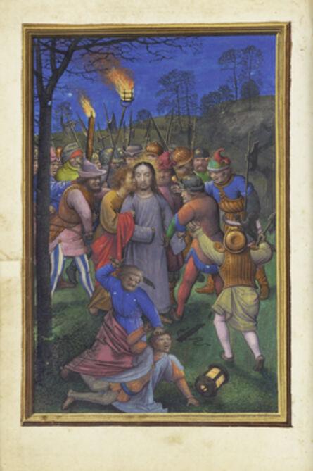 Simon Bening, 'The Betrayal of Christ', 1525-1530