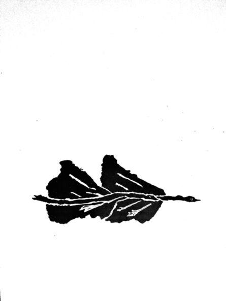 Georges Braque, 'Black bird', 1960