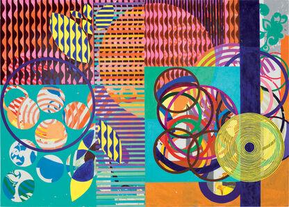 Beatriz Milhazes, 'Flores e Árvores', 2012–2013