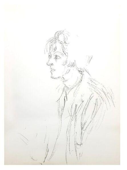 """Alberto Giacometti, 'Original Lithograph """"Man"""" by Alberto Giacometti', 1964"""