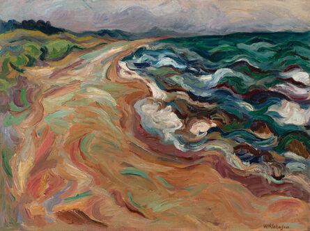 William Henry Johnson, 'Untitled (Kerteminde)', c. 1930-35