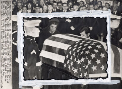 Associated Press, 'Jackie Kennedy Pays Final Tribute to Her Husband', 1963