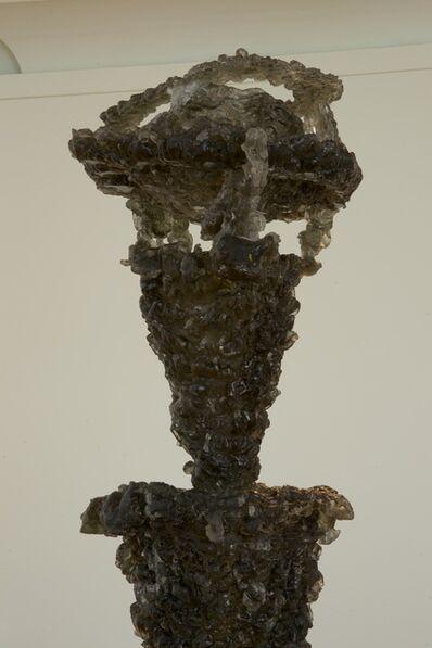 Lynda Benglis, 'Black Ice', 2009