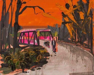 Kim Dorland, 'Walking the Dog', 2007