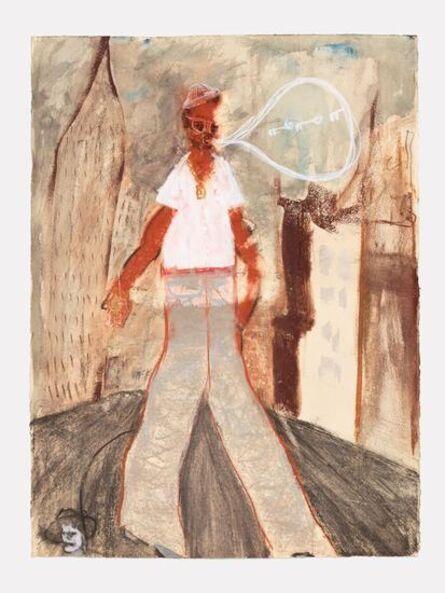 Curtis Talwst Santiago, 'Taking Tanty Milli's Skull for a Walk'